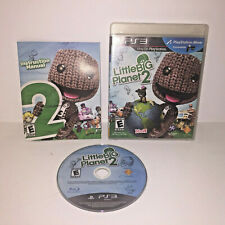 Little Big Planet 2 Sony PlayStation 3 2011 Black Label PS3 Complete Manual CIB