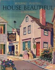 1926 House Beautiful July- Houses in Warren RI; Chestnut Hill PA; Locust Valley