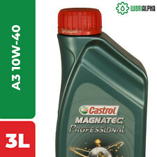 Olio Motore Castrol MAGNATEC Professional A3 10W40 3 Litri