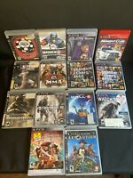 LEGO Pirates Ps3 Lot Poker Madden Saints Midnight Gta Mma Crysis Wall E Watch
