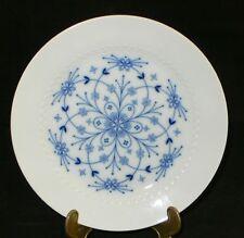 Hutschenreuther Tirschenreuth Melodie Mazurka Kobalt blaue Blume Teller 19,5 cm