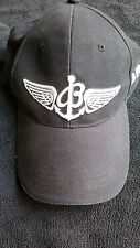 BREITLING HAT NAVY  W/ WHITE and RED