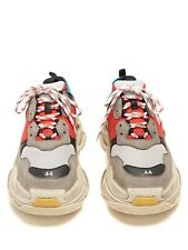 Balenciaga Triple S Trainers Shoes Red and Blue Top Quality