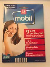 K-Classic Mobil 0159 0 2X2 88 44 - 10? Prepaid SIM Karte o2 Kaufland
