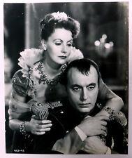 GRETA GARBO & CHARLES BOYER  8 x 10 film publicity PHOTO Conquest 1937 dt214