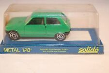Solido 1317 Renault 5 TL green 1: 43 mint in box superb 6e