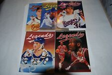 5 LEGENDS SPORTS MEMORABILIA PRICE GUIDES JORDAN, GRIFFEY, RYAN, RIPKEN AND HULL