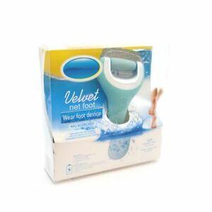 Velvet net foot Electric Pedicure wet & dry Foot File hard skin & Callus Remover