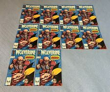Wolverine #18 (NM, Dec.1989) comic book multiple copies x10