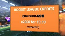 x2000 Tradeable Credits [SALE] - Rocket League Xbox One
