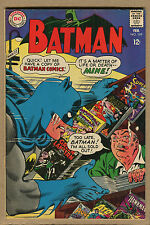 Batman - #199 - Life or Death- 1968  (Grade 7.0 Bot. Staple Detached) WH
