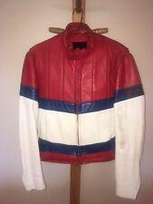 Vintage Leather Rex Marsee Bell Design motorcycle jacket 42