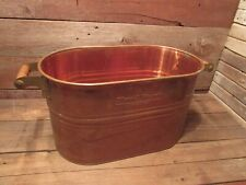 Decorative Firewood Bucket Large Indoor Log Rack Holder Fireplace Hearth Tub