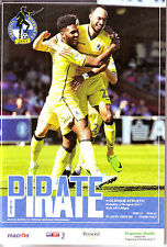 BRISTOL ROVERS V OLDHAM 17 APR 2017, EXC CONDITION QUALITY 84 PAGE PROG.