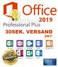 Microsoft Office 2019 Professional Plus ✅ Vollversion ✅ Deutsch ✅ 1PC ✅ 64/32BIT