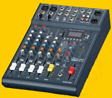 Studiomaster Club XS 6-Kanal Mixer, Mischpult # DSP Effekte # MP3/USB/Bluetooth