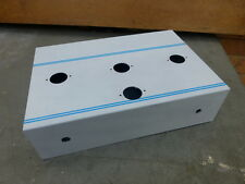 Custom Made Vintage Style Valve Tube Audio Amplifier Chassis 12x8x3in Aluminium