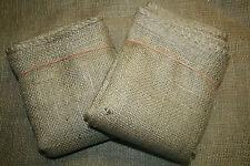 2 Stück Jutesack, Kartoffelsack, Hüpfsack, Kaffeesack, Weihnachtssack, 55x95,neu