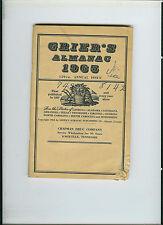 GRIER'S ALMANAC 1965 159TH ANNUAL ISSUE