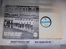 LP VA Mexico 70 Fussball WM RESONO Kurt Brumme / Oskar Klose BRD-UK / ITA-BRD