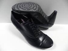 Chaussures VIRUS MODA noir FEMME taille 37 escarpins cuir schuhe NEUF #20395