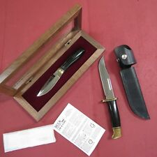 Buck Harley Davidson knife & Buck 119 Bos Fix blade knife (lot#11988)