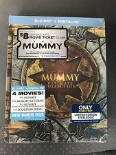 The Mummy Ultimate Collection 4 Film Blu-Ray Digital HD Steelbook New Action