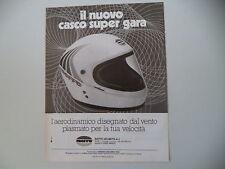 advertising Pubblicità 1978 CASCO BIEFFE HELMETS