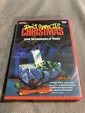 Don't Open Till Christmas (DVD, 1984) Cult Horror New Sealed