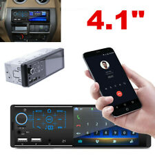 Car Stereo Radio 1DIN 4.1 Inch HD MP5 MP3 FM Player Touch Screen Mirror Link