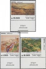 Israel 843-845 with Tab (complete issue) unmounted mint / never hinged 1981 Pain