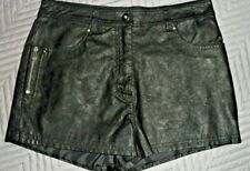 Henry Holland faux leather hot pants size 10 pre loved summer festival holiday