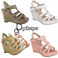 NEW Women's Fashion Shoes Sandals Platforms Wedges Heels Summer Comfort Strappy