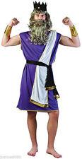 Mens Neptune Fancy Dress Costume Greek Sea God Poseiden One Size (AC345)