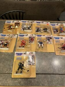 Lot Of 9 NHL 1996 Starting Lineup Figures,sealed,Messier,Roenick,Coffey,Francis