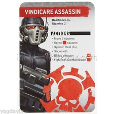 SAS08 VINDICARE REFERENCE CARD ASSASSINORUM WARHAMMER 40,000 BITZ W40K