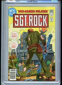 Sgt Rock #348 CGC 9.6 White Ayers Kubert