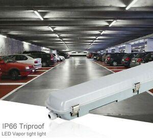 LED Feuchtraumleuchte Feuchtraumlampe IP65 Wannenleuchte T8 Röhre 60 120 150cm