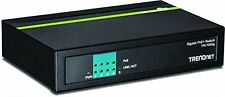 Trendnet 5-port Gigabit Poe+ Switch - 5 Ports - 4 X Poe+ - 1 X Rj-45 -