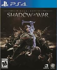 Middle-Earth: Shadow of War ps4 playstation 4