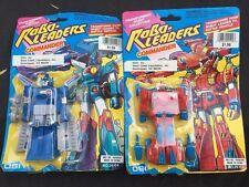 1992 Robo Leaders Commander figure DSI Buddy L MOC robot transformers Robo Tron