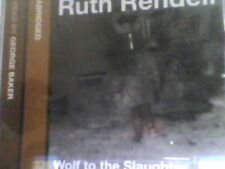 Ruth Rendell - George Baker - Wolf to the Slaughter - Audio 3 x CD