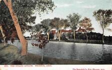 THE INSANE ASYLUM Phoenix, Arizona Mental Hospital ca 1907 Vintage Postcard