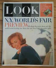 LOOK MAGAZINE FEBRUARY 11 1964 NY WORLD FAIR PREVIEW NY BEAUTIFUL GIRLS