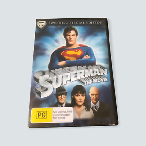 Superman: The Movie DVD - VGC/R4/AUS/Tested/Free Postage 🐙
