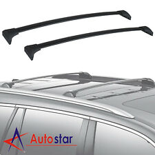 1 Pair Black Aluminum Top Roof Rack Cross Bar Fits 2016 2017 2018 Honda Pilot
