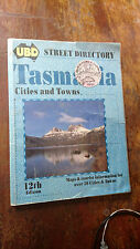 Ubd Tasmania Cities and Towns Street Directory 12 th ed 1996