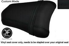 BLACK VINYL CUSTOM FITS DUCATI 749 999 REAR PILLION PASSENGER SEAT COVER ONLY