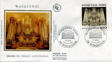 FRANCE FDC - 2706 1 LES ORGUES DE WASQUEHAL - 22 Juin 1991 - LUXE sur soie