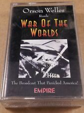 Orson Welles Reads War Of The Worlds : Vintage Tape Cassette From 1995